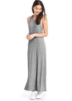 Softspun knit racerback maxi dress