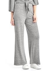Gap Softspun knit wide-leg pants