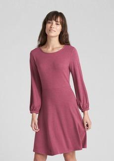 Gap Softspun Long Sleeve Fit and Flare Dress