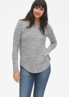 Gap Softspun Long Sleeve Stripe Tunic Top