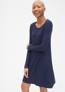Gap Softspun Long Sleeve T-Shirt Dress