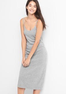 Softspun rib-knit cami dress