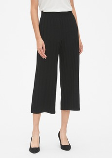 Gap Softspun Ribbed Crop Wide-Leg Pants