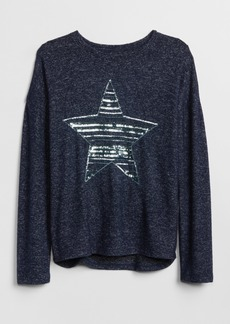 Gap Softspun Sequin Graphic T-Shirt