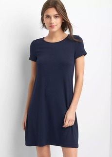 Softspun short sleeve t-shirt dress