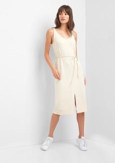 Gap Softspun strappy midi dress