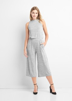 Gap Softspun stripe culotte jumpsuit