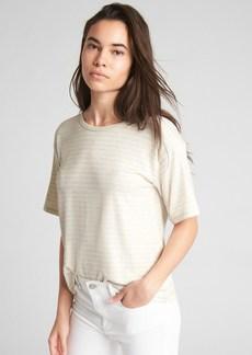 Gap Softspun Stripe Open-Back T-Shirt