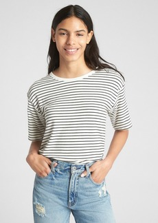 Gap Softspun Stripe Open-Back T-Shirt