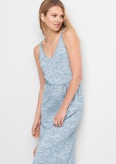 Softspun stripe tank dress