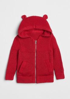 Gap Sparkle Garter Hoodie Sweater