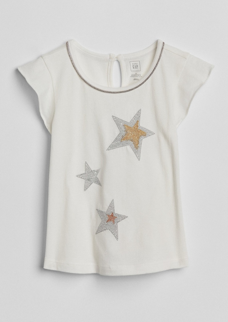 d2dcf59ab Gap Sparkle Graphic T-Shirt | Shirts