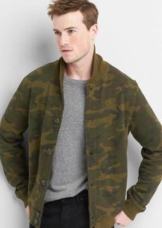 Gap Stand collar fleece jacket
