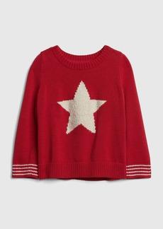 Gap Star Crewneck Sweater