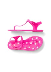 Gap Starry t-strap jelly sandals