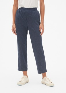 Gap Straight Crop Pants in Brushed Ponte