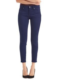 Gap Mid rise sateen true skinny ankle jeans