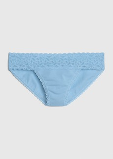 Gap Stretch Cotton & Lace Bikini