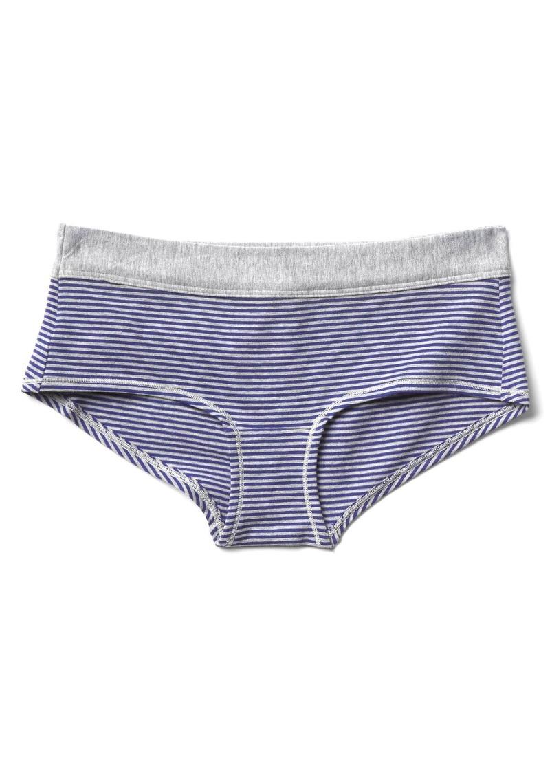 Gap Stretch cotton stripe girlshorts