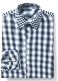 Gap Stretch Poplin gingham standard fit shirt
