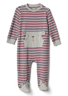 Gap Stripe Bear Footed One-Piece
