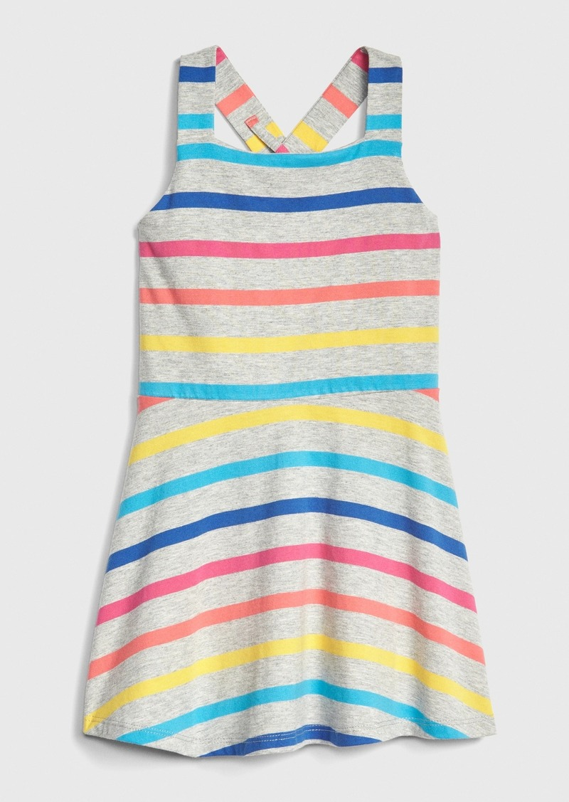 Gap Stripe Crossback Dress