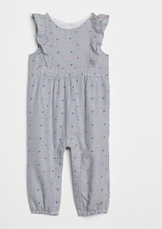 Gap Stripe Dot Flutter One-Piece