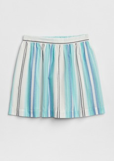 Gap Stripe Flippy Skirt