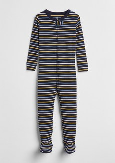 Gap Stripe Footed One-Piece