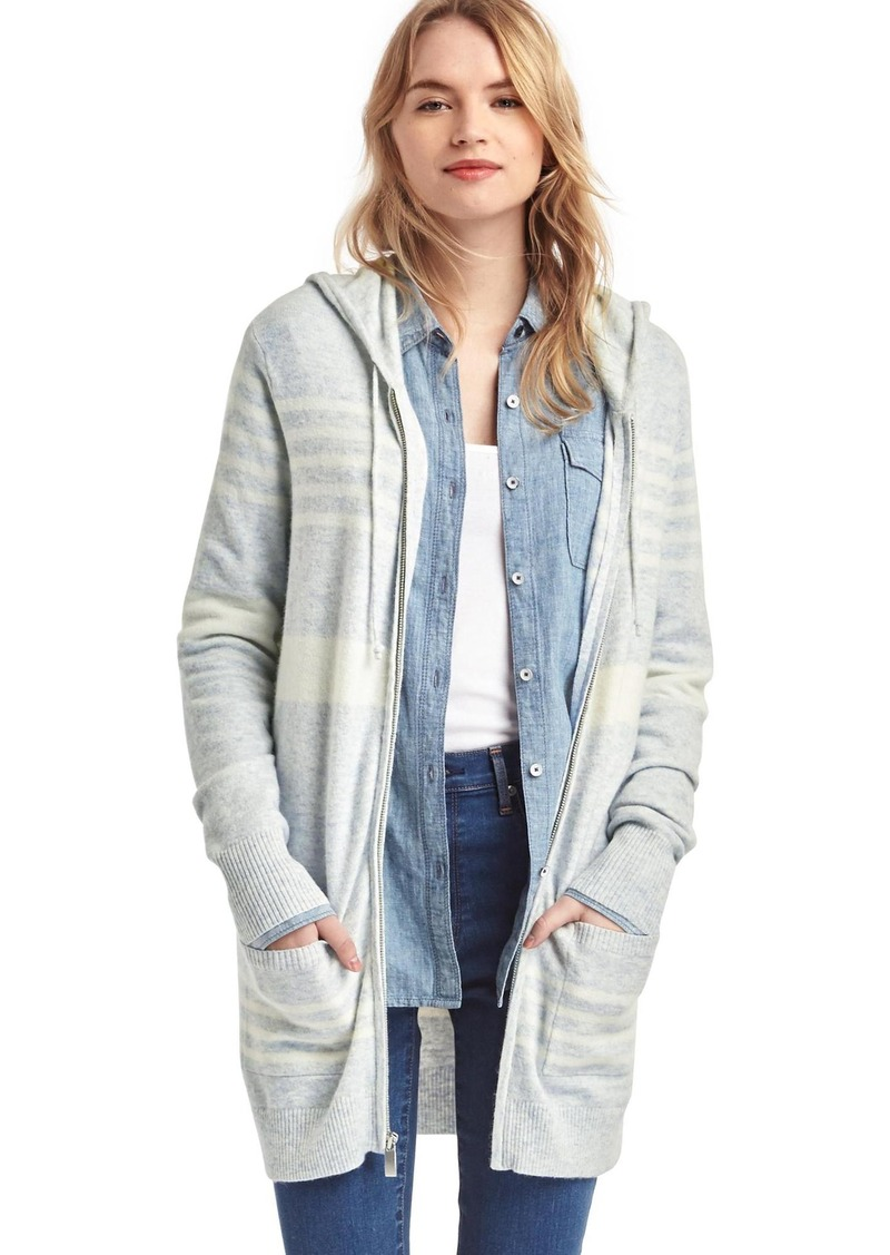 Gap Stripe hooded cocoon sweater | Sweaters - Shop It To Me