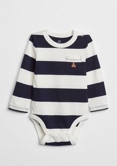 Gap Stripe Long Sleeve Bodysuit