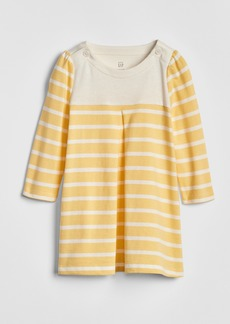 Gap Stripe Long Sleeve Dress