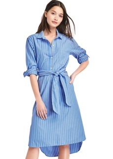 Stripe midi shirtdress