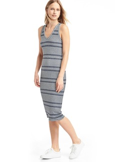 Stripe midi tank dress