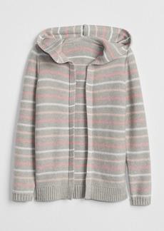Gap Stripe Open-Front Cardigan