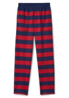 Gap Stripe PJ Pants in French Terry