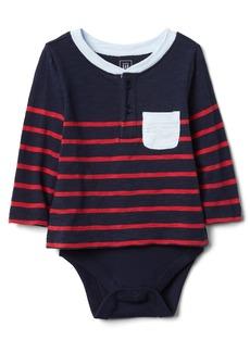 Gap Stripe Pocket Body Double