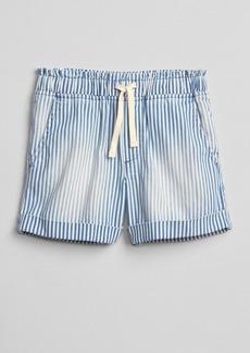 Gap Stripe Pull-On Shorts