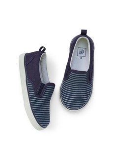 Gap Stripe Slip-On Sneakers