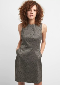 Gap Structured fit and flare dress