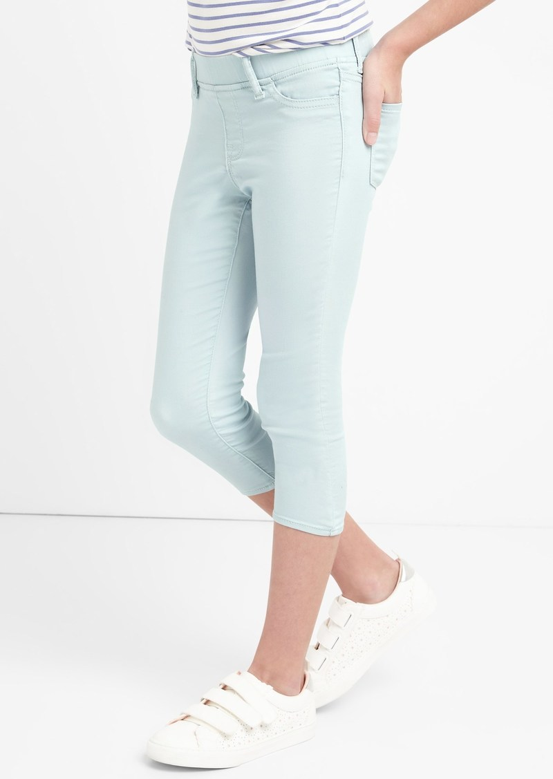 ef54d04b330cc8 On Sale today! Gap Superdenim Crop Favorite Jeggings with Fantastiflex