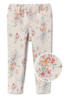 Gap Superdenim Favorite Jeggings in Floral with Fantastiflex