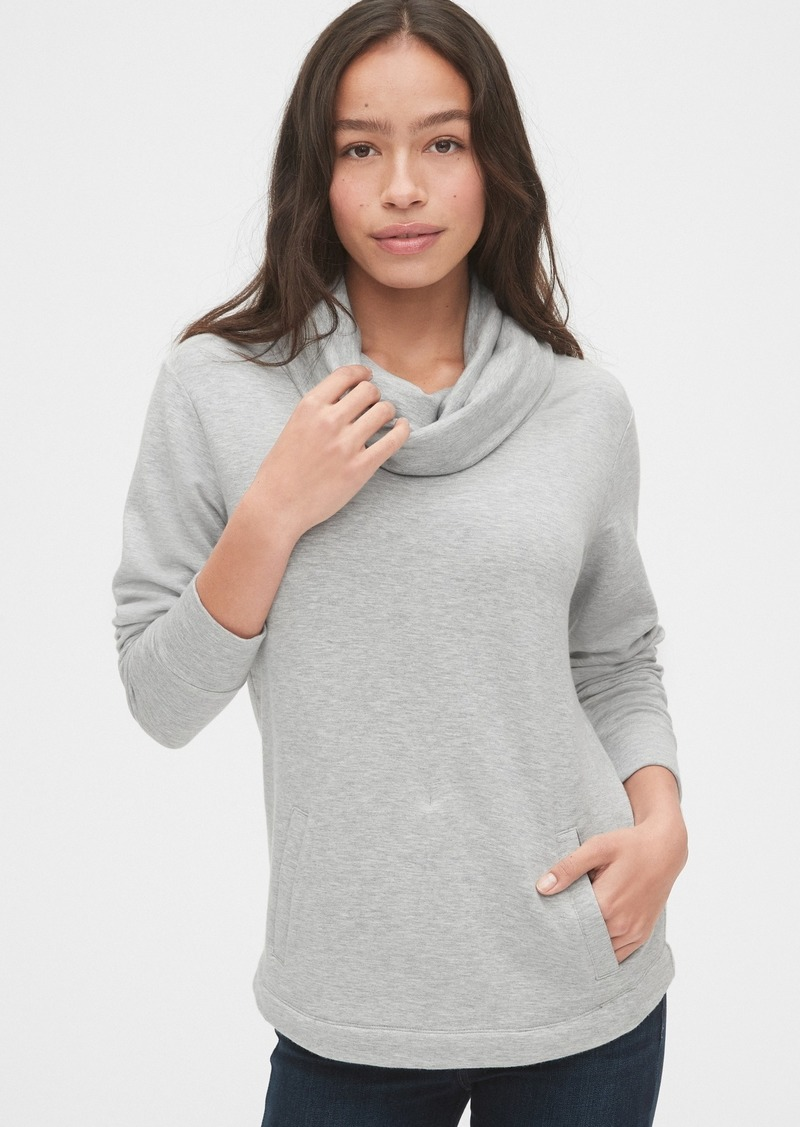 Gap Supersoft Terry Cowl-Neck Tunic Sweatshirt