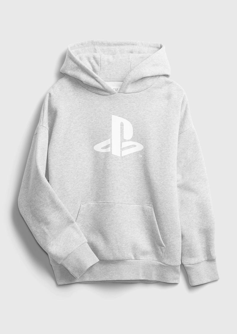 Gap Teen &#124 PlayStation Oversized Graphic Hoodie