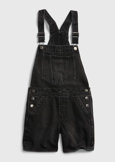 Gap Teen Black Denim Shortall