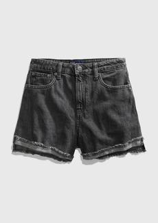 Gap Teen Black Denim Shorts
