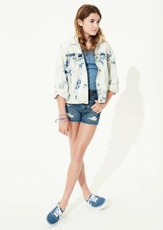 Gap Teen Distressed Medium Wash Denim Shorts