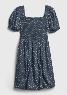 Gap Teen Floral Smocked Dress