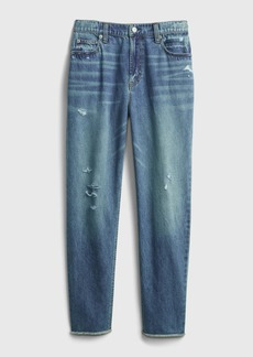 Gap Teen Sky High-Rise Mom Jeans