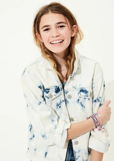 Gap Teen Tie-Dye Denim Jacket